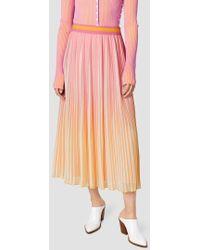 10 Crosby Derek Lam - Ombré Design Skirt - Lyst