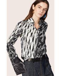 Derek Lam - Long Sleeve Button-down Shirt - Lyst