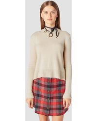 10 Crosby Derek Lam - Long Sleeve Sweater With Back Ring Detail - Lyst