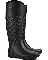 69c25896025 Lyst - Women s Tory Burch Rain boots On Sale