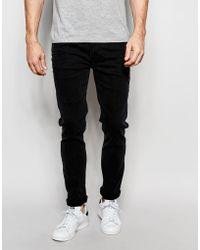 Bellfield - Skinny Jeans In Black - Lyst