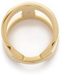 Michael Kors - Maritime Link Ring - Gold - Lyst