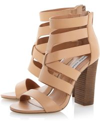 Steve Madden Cruizz Strappy Cut Out Sandals - Lyst