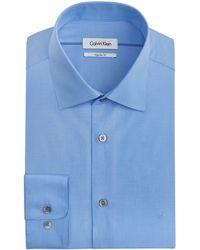 Calvin Klein Cotton Dress Shirt - Lyst