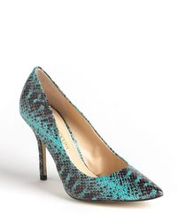 Enzo Angiolini - Persist Snakeskin Court Shoes - Lyst