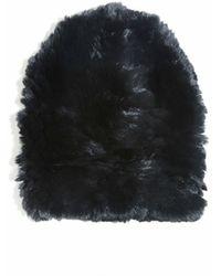 Eugenia Kim Elie Knitted Fur Beanie - Lyst