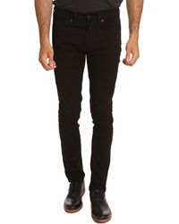 Levi's 510 Black Slim Fit Jeans - Lyst