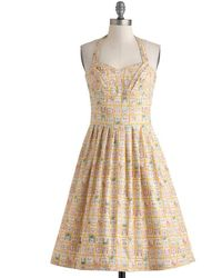 ModCloth Object Of My Collection Dress - Lyst