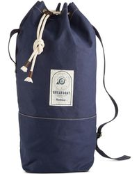 Barbour - Men's Navy Duffle Bag - Lyst
