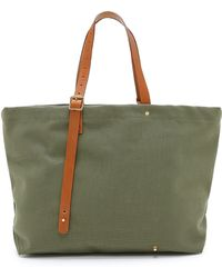 Garbstore Sunday Tote green - Lyst
