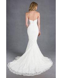 Nicole Miller Poppy Bridal Gown - Lyst