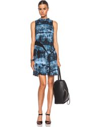 Proenza Schouler Tiered Silk Dress - Lyst
