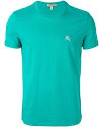 Burberry Brit Logo T-Shirt - Lyst