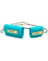 Moschino Leather Fanny Pack  - Lyst