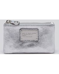 Marc By Marc Jacobs Key Pouch - Metallic - Lyst
