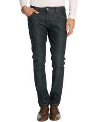 Selected Raw Denim Slim Fit Jeans - Lyst