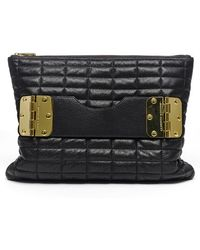 hayden-harnett - 'bowdoin' Quilted Leather Clutch - Lyst