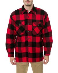 Rothco The Sherpa Lined Flannel Jacket - Lyst
