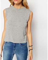 Asos Forever Sleeveless Tank Top - Lyst