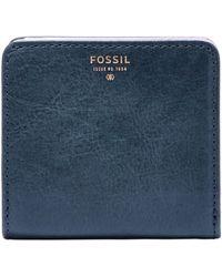 Fossil Sydney Leather Bifold Wallet - Lyst