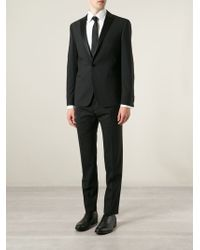 Tonello Black Slim-Fit Tuxedo - Lyst