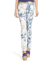Polo Ralph Lauren Floral Tompkins Skinny Jean - Lyst
