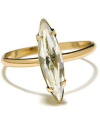 Bing Bang Crystal Shard Ring - Clear Crystal - Lyst