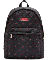 Marc By Marc Jacobs - Black Nylon Quilted Crosby Backpack - Lyst