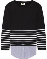Band Of Outsiders Breton Striped Cotton Top - Lyst