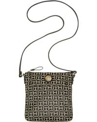 Tommy Hilfiger Jacquard Th Pockets Crossbody - Lyst