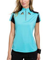 Jamie Sadock - Color Block 1⁄4-zip Golf Top - Lyst