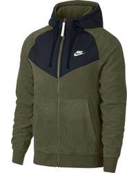 704c86cf1e0d0 Lyst - Nike Tech Fleece Windrunner Hoody in Blue for Men