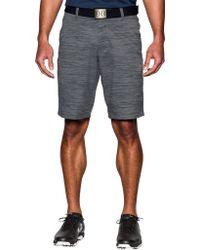 Under Armour - Match Play Print Golf Shorts - Lyst