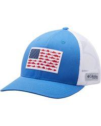 8e3e9568 Columbia Pfg Mesh Trucker Hat in Green for Men - Lyst