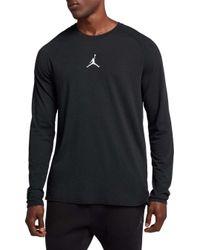 5de8d00c Lyst - Nike Jordan 23 Alpha Dry T-shirt in Black for Men