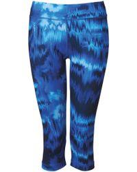 c8d71ec9128c Lyst - adidas Originals Training Techfit Graphic Capri Leggings in ...