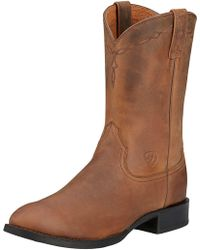 Ariat - Heritage Roper Western Boots - Lyst
