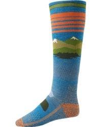 Burton - Performance Midweight Snowboard Socks - Lyst