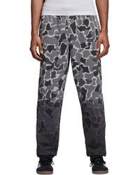 f048994efb36 Lyst - adidas Men s Originals D-track Pants in Black for Men
