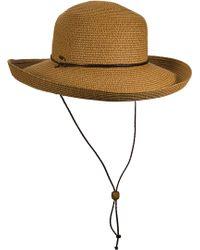Dorfman Pacific - Scala Sun Hat - Lyst