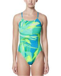 Nike - Performance Rule Beam V-back Swimsuit - Lyst