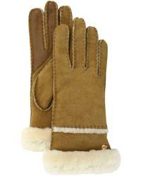 UGG - Seamed Tech Gloves - Lyst