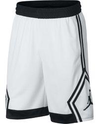6391c04b32c79e Lyst - Nike Jordan Rise Solid Shorts in Blue for Men