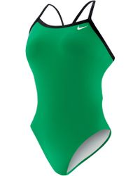 Nike - Poly Core Lingerie Tank Swimsuit - Lyst