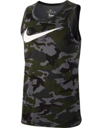387a5456dbd04 Lyst - Nike Pro Cool Compression Sleeveless Shirt for Men