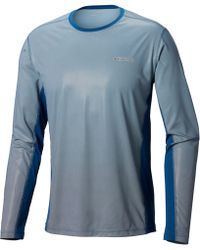 ab7d8a50e18 adidas Training Freelift Chill T-shirt In Gray Ce0818 in Gray for Men - Lyst