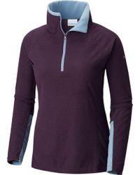 Columbia - Glacial Iv Print Half-zip Pullover - Lyst