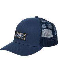 bf880a02c54b1 Lyst - Billabong Walled Trucker Hat in Blue for Men