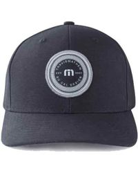 1185b55f619 Lyst - Travis Mathew Craycraft Baseball Cap in Black for Men