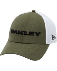 buy popular 12fdb b7152 Oakley - Heather New Era Snap-back Golf Hat - Lyst